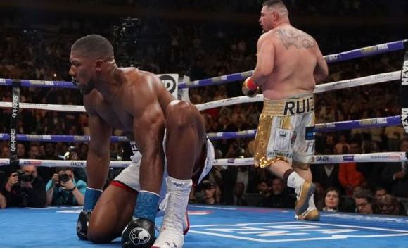 Anthony Joshua beaten