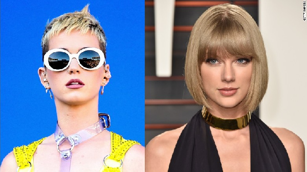 Katy Perry and Taylor Swift had the biggest celebrity feud