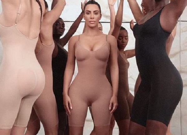 Kim's new shapewear Kimono Intimates brand has attracted backlash from social media users