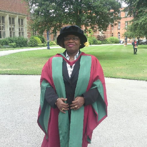 Rev. Dr Dinah Baah-Odoom, Registrar, Ghana Psychology Council