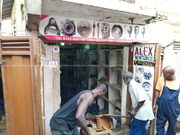 Shops of some Nigerians were ransacked amid tensions