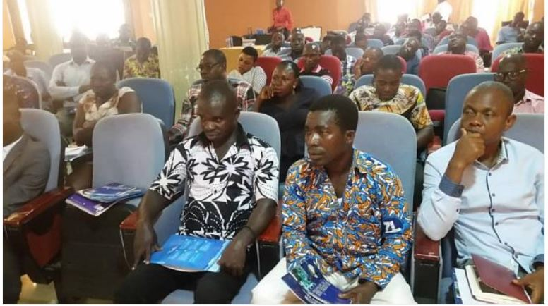 Some of the participants at the training