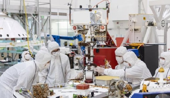 The Jet Propulsion Lab is currently constructing the Mars 2020 rover