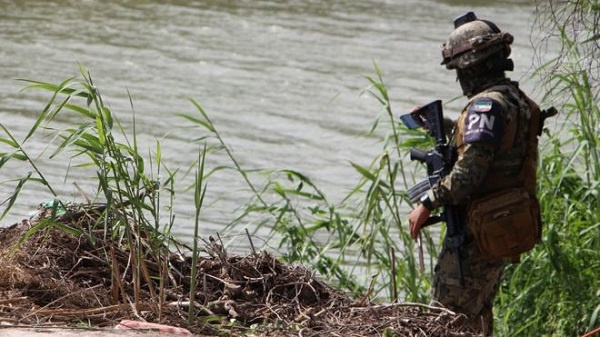 The bodies were found after a search by Mexican police along the Rio Grande