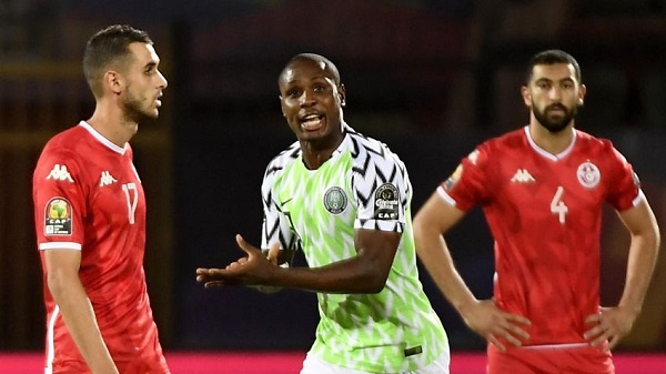 Ighalo pounced on an early error to grab the win