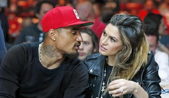 Kevin-Prince Boateng and Melissa are back together