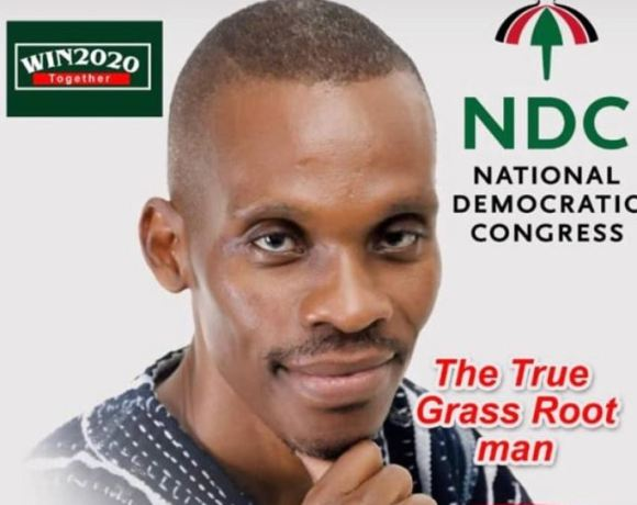Emmanuel Max-Voy, NDC parliamentary aspirant for the Ashaiman Constituency