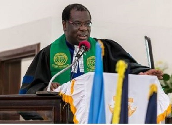Reverend Mante, Moderator of the General Assembly of the Presbyterian Church of Ghana