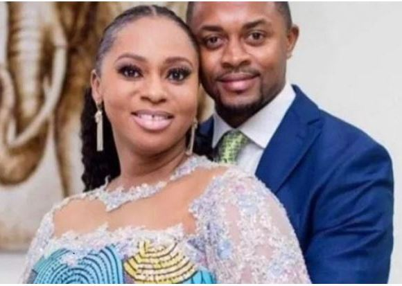 Sarah Adwoa Safo and husband