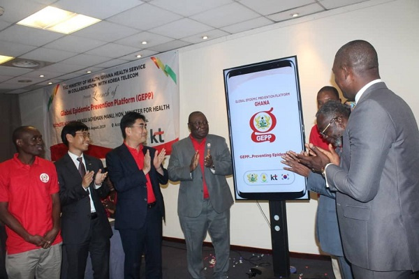 The app was developed under the Global Epidemic Prevention Platform