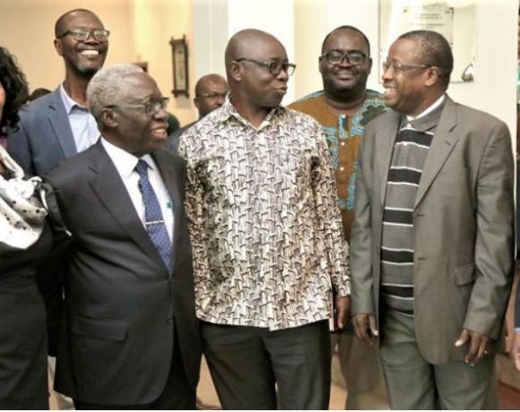 The fifth round of negotiations between the two countries began in Accra yesterday