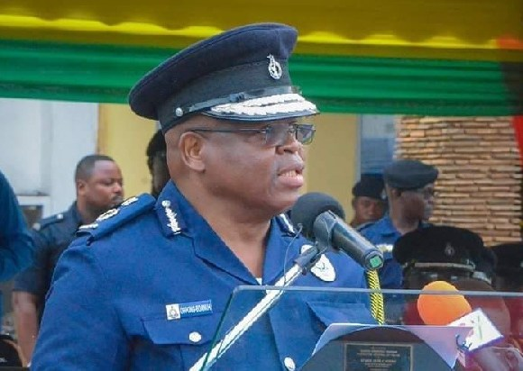 Acting IGP James Oppong-Boanuh