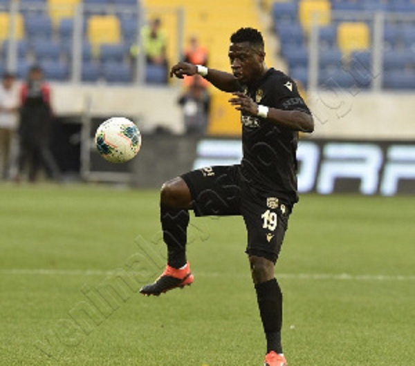 Afriyie Acquah in action
