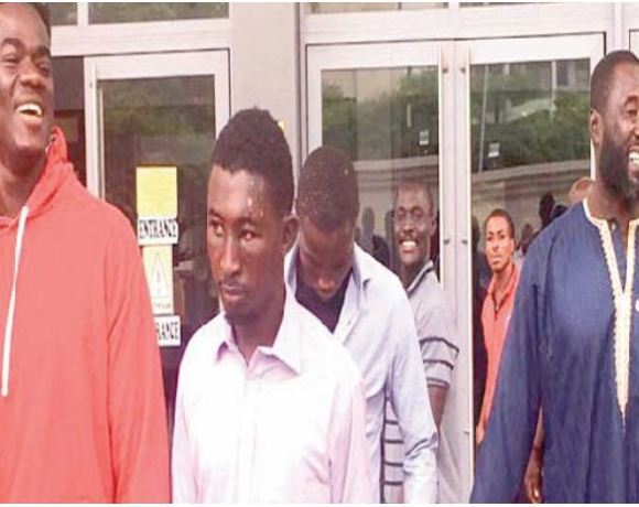 Alleged kidnappers freed