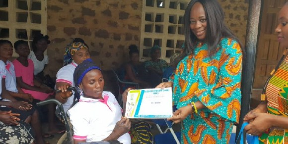 DCE presenting certificate to a beneficiary