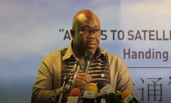Deputy Minister for Communications, George Andah