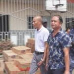 The Chinese nationals were arrested for evading payment of lawful taxes