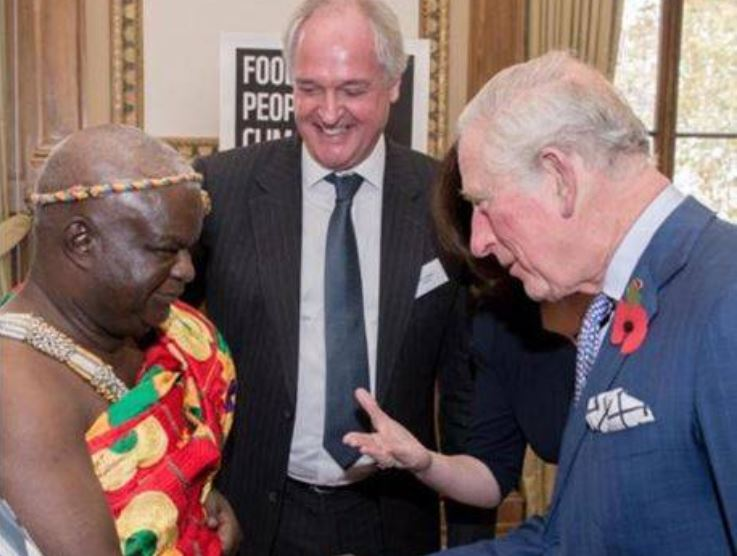 Chief meets Prince Charles