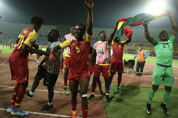 Ghana finished second in Group A on 4 points ahead of Cameroon