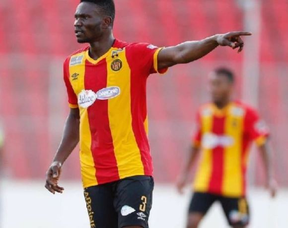 Kwame Bonsu in action for Esperance