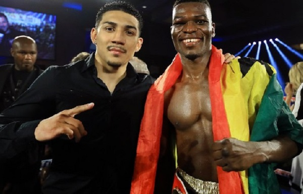 Teofimo Lopez (left) is scheduled to fight Richard Commey on December 14