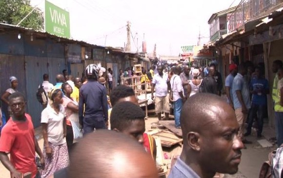 Ghanaian traders clash with Nigerian traders