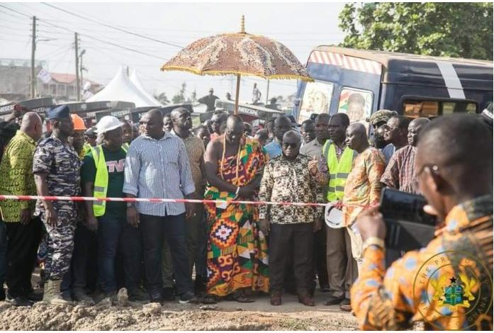 Nana Addo inspects Project