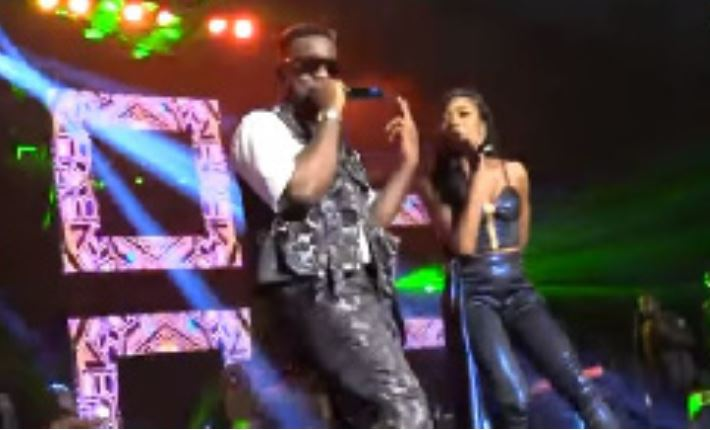 Sarkodie and Efya