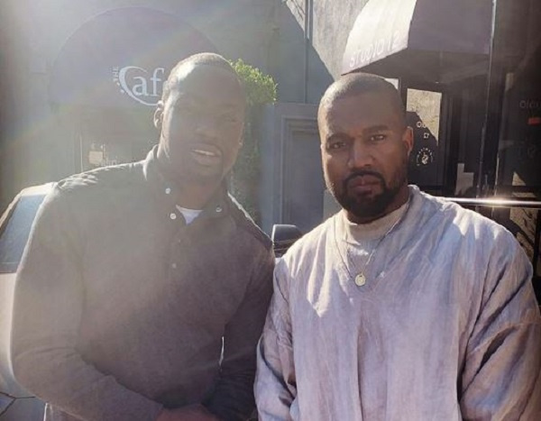Chris Attoh with Kanye West, Ghana Music News Articles