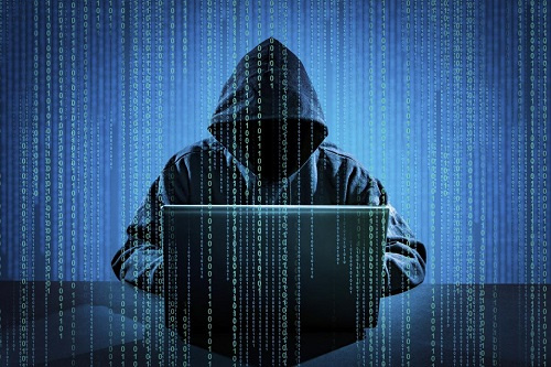 Hacker attacks cyber space of banks