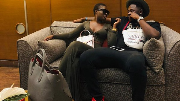 Medikal and Fella Makafui in happier times