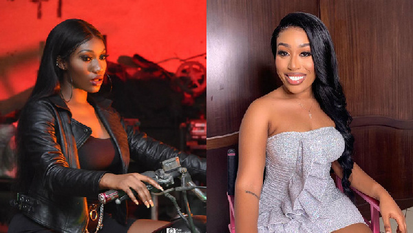 Musicians Wendy Shay and Fantana