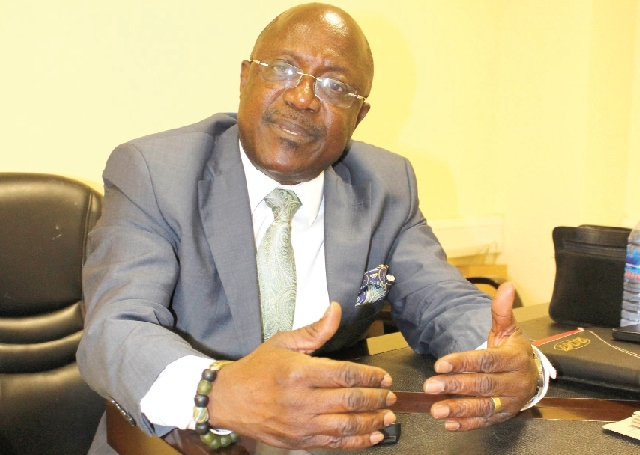 Prof Ken Attefuah is the head of the NIA