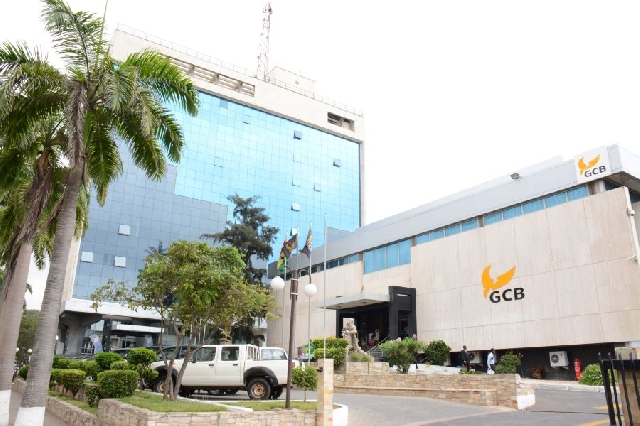 GCB Ghana Commercial Bank Office