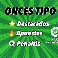 Onces Tipo de LaLiga Santander Temporada 2020/21