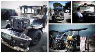 Jeepney & tricycle taxis
