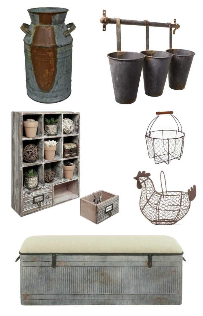 Rustic Farmhouse Decor Amp A Giveaway AS FOR ME AND MY