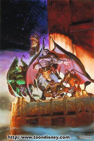 Animated Heroes The Gargoyles