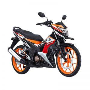 Sepeda Motor Sporty, Disain Futuristic, dengan Honda New Sonic 150 R Repsol Special Edition