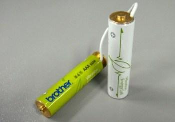 Батарейки самозаряжаются
