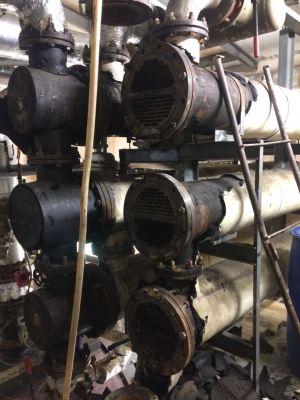 Очистка кожухотрубных подогревателей воды - АСГАРД