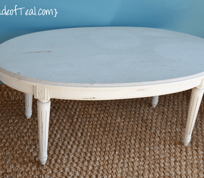 Before+After: Grey Coffee Table