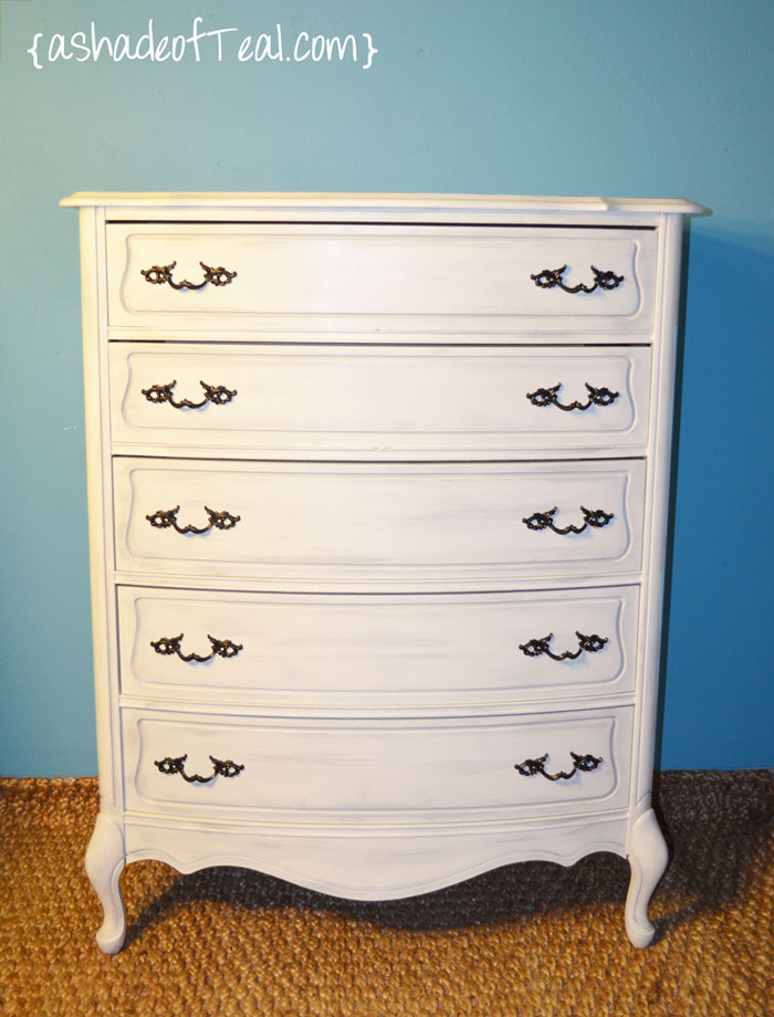 before after tall dresser