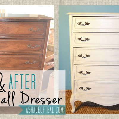 Before+After: Tall Dresser