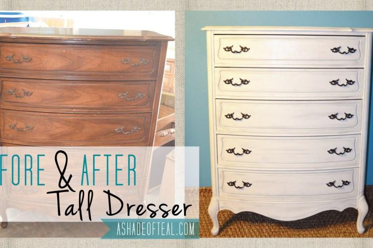Before+After: Tall Dresser
