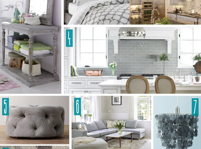 Color Series; Decorating with Grey