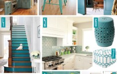 24+ Incredible Teal Kitchen Decor That Follow The Latest Trends