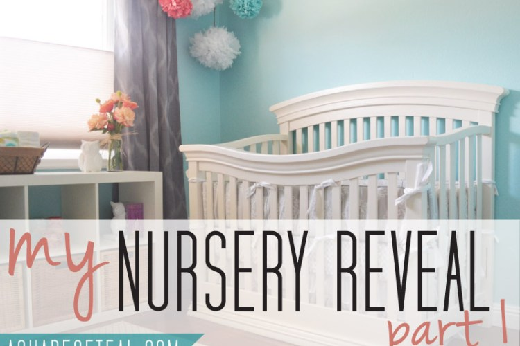 Nursery Reveal {Part 1}