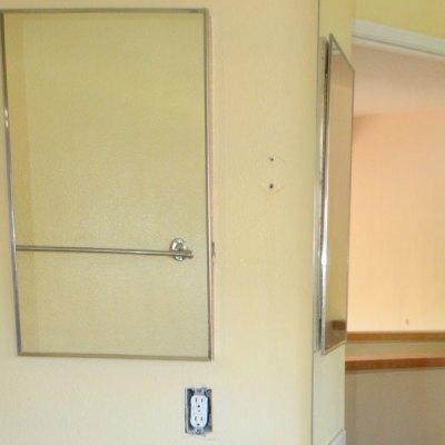 Hall Bath Chronicles- Medicine Cabinet