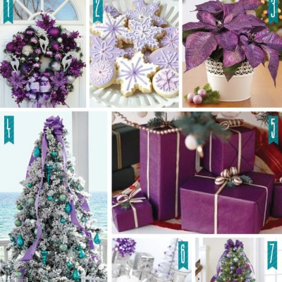 Color Series {Holiday Edition} Purple
